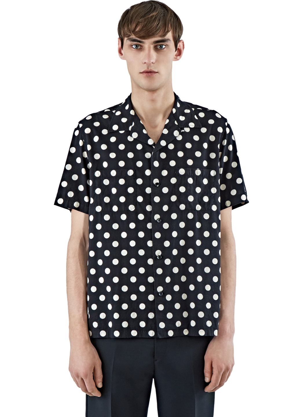 Free shipping and returns on Men's Polka Dot Shirts at sashimicraft.ga