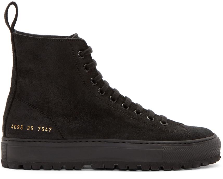 Tournament hi-top sneakers - Black Common Projects kVivGGm6s