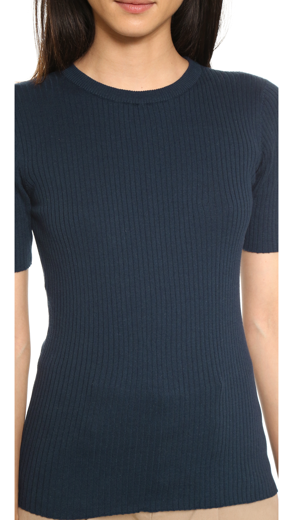 Lyst - Frame Le Crew Sweater In Blue-5842