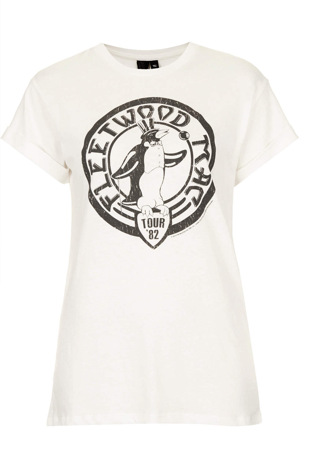 Topshop Fleetwood Mac Tee By And Finally In White Lyst