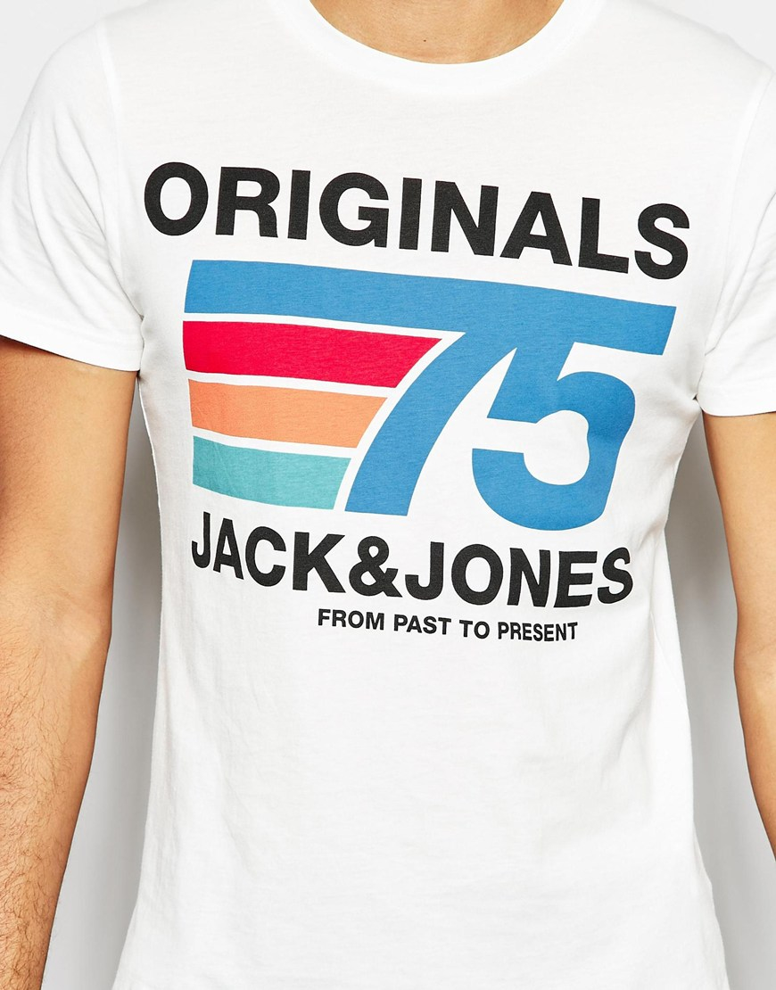 official supplier brand new lowest price T-shirt With Retro 75 Print