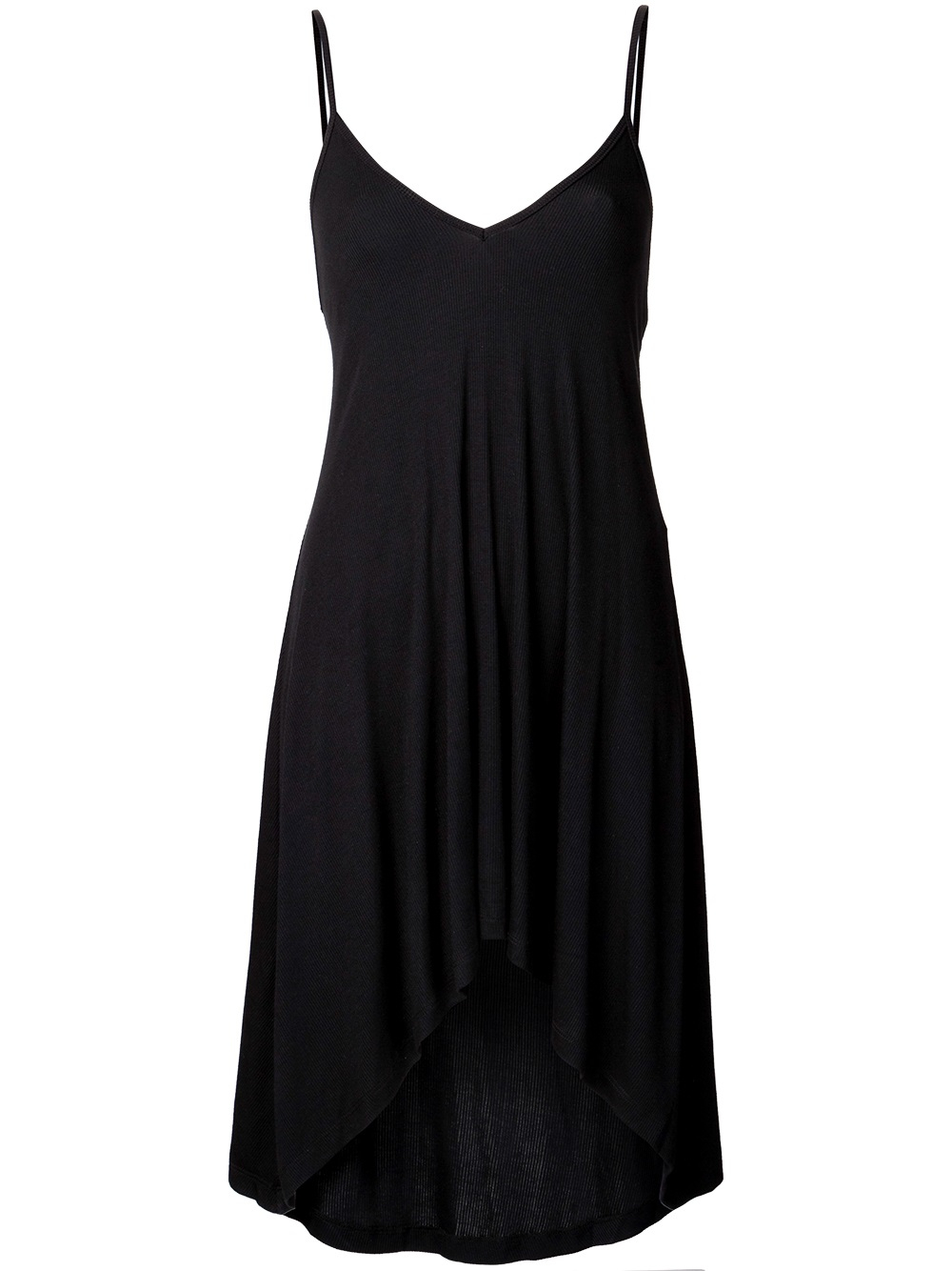 Again Trinity Nighty Dress In Black Lyst