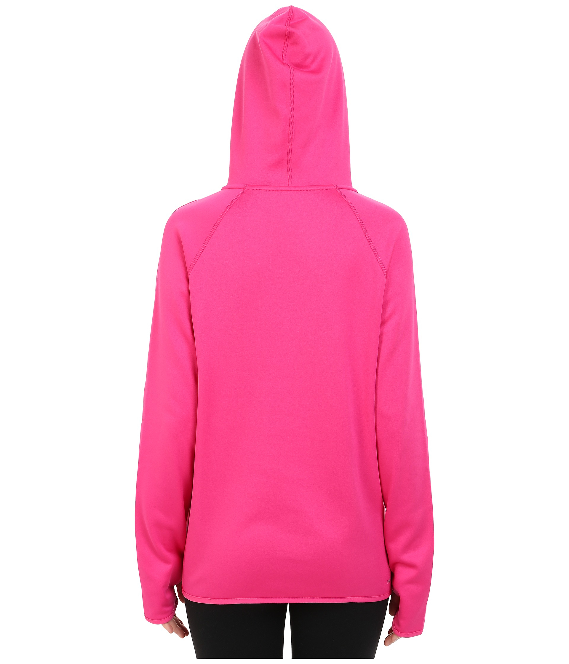 nike all time pullover hoodie in pink lyst