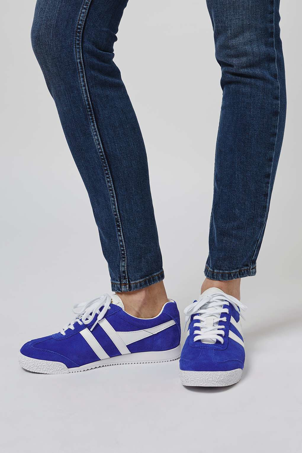 Gola Suede Harrier Trainers in Blue - Lyst
