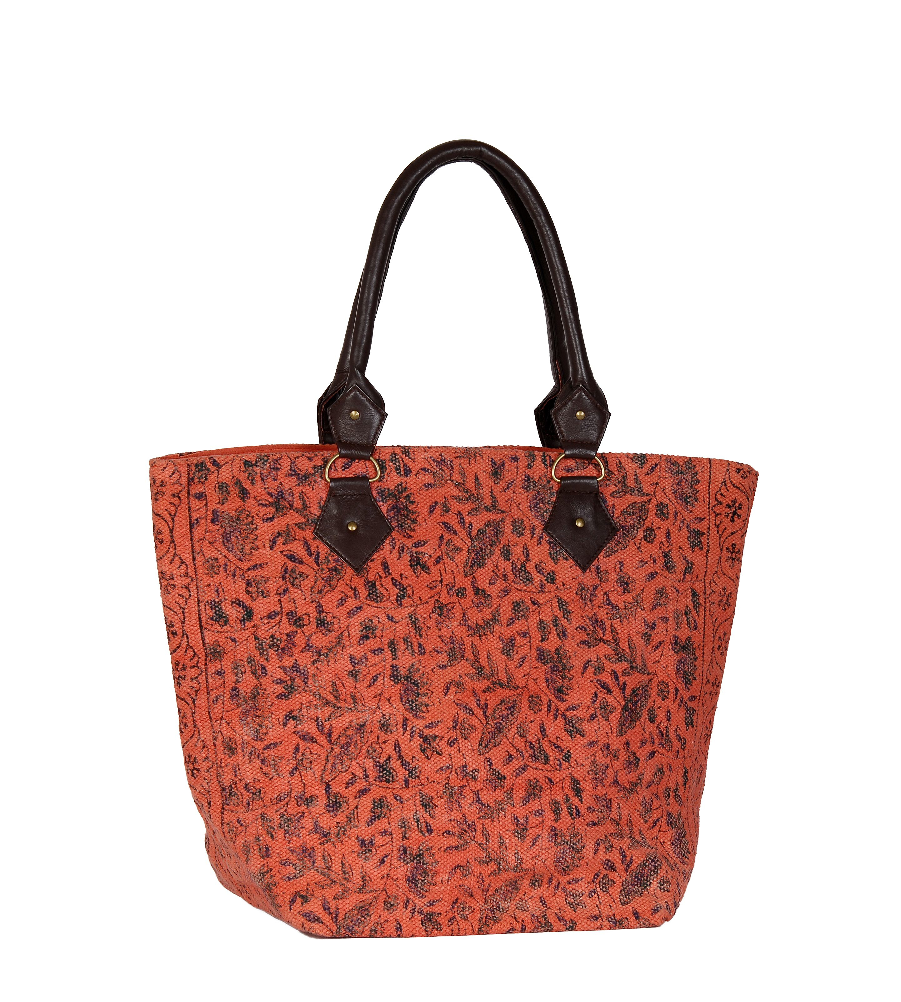 marinette saint tropez nectarine shopping bag in red lyst. Black Bedroom Furniture Sets. Home Design Ideas