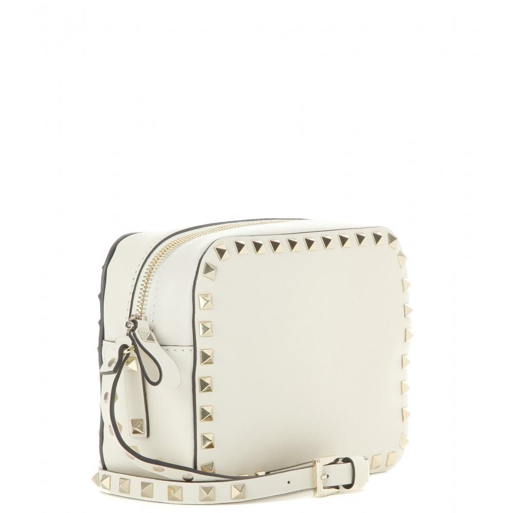3097a934a8e7 Valentino White Rockstud Crossbody Bag