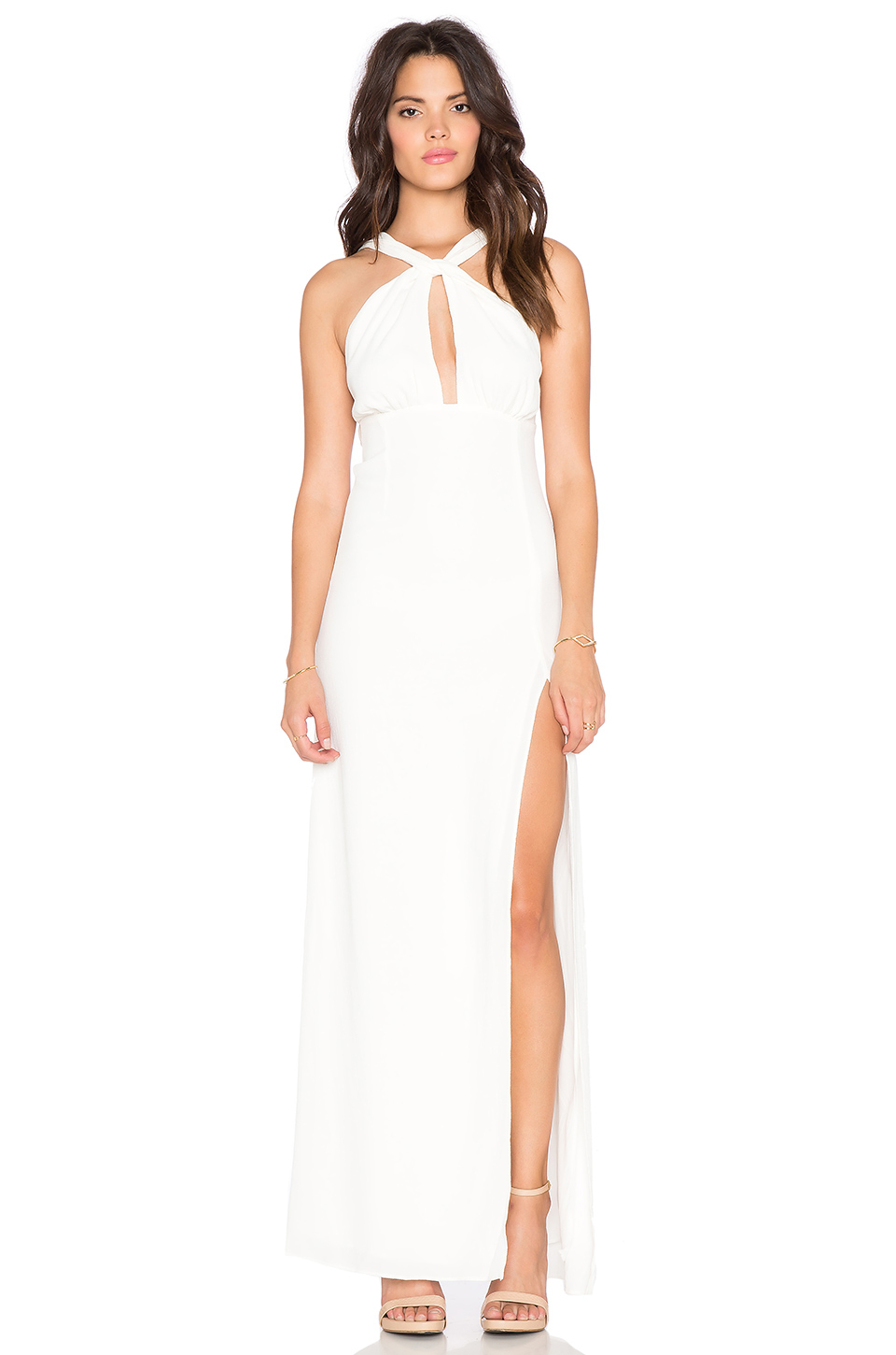 Lyst - Stone Cold Fox Palms Gown in White