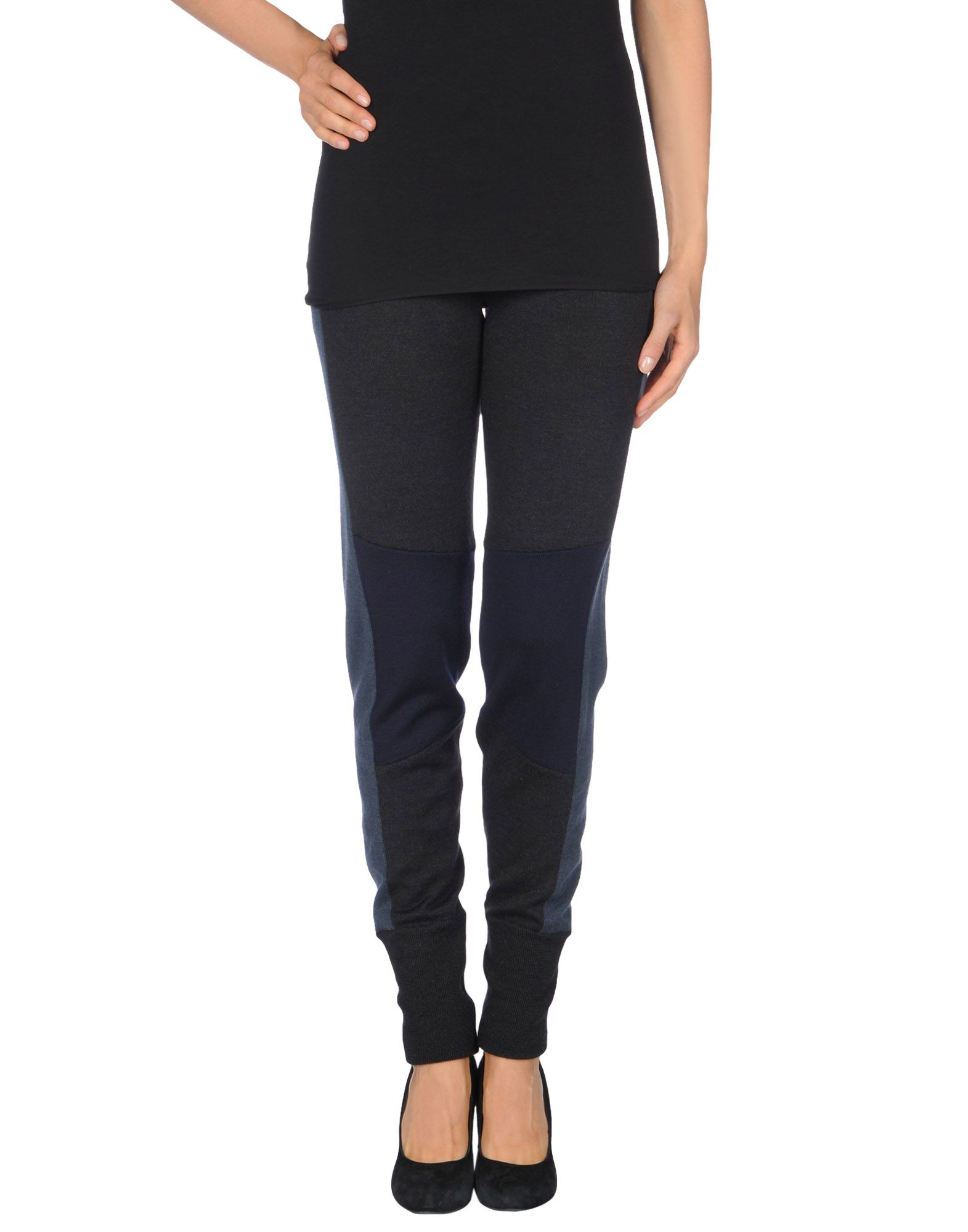 Mm6 by maison martin margiela leggings in black lyst for A la maison lotion