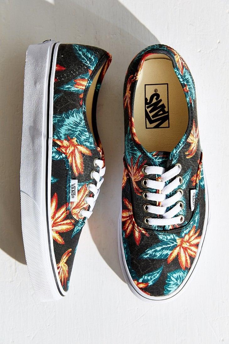 Vans Authentic Vintage Aloha Sneaker in Black - Lyst