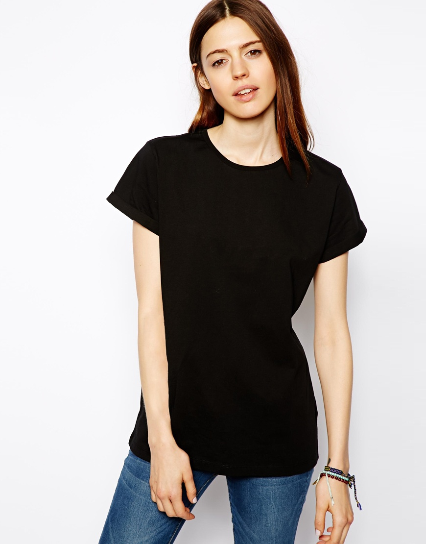 black t shirt model back - photo #11