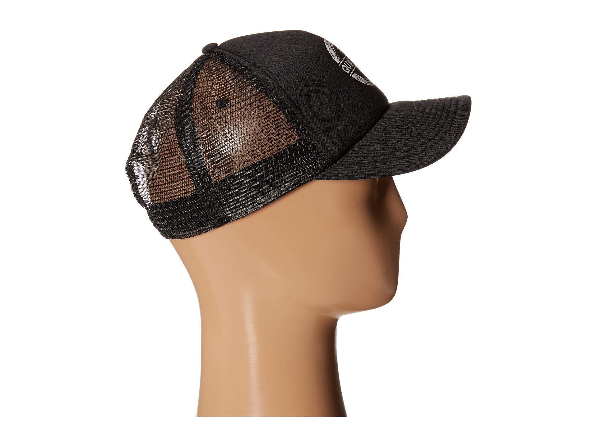 Lyst - Quiksilver Everyday 3 Trucker Hat in Black for Men 61a4f0665faf