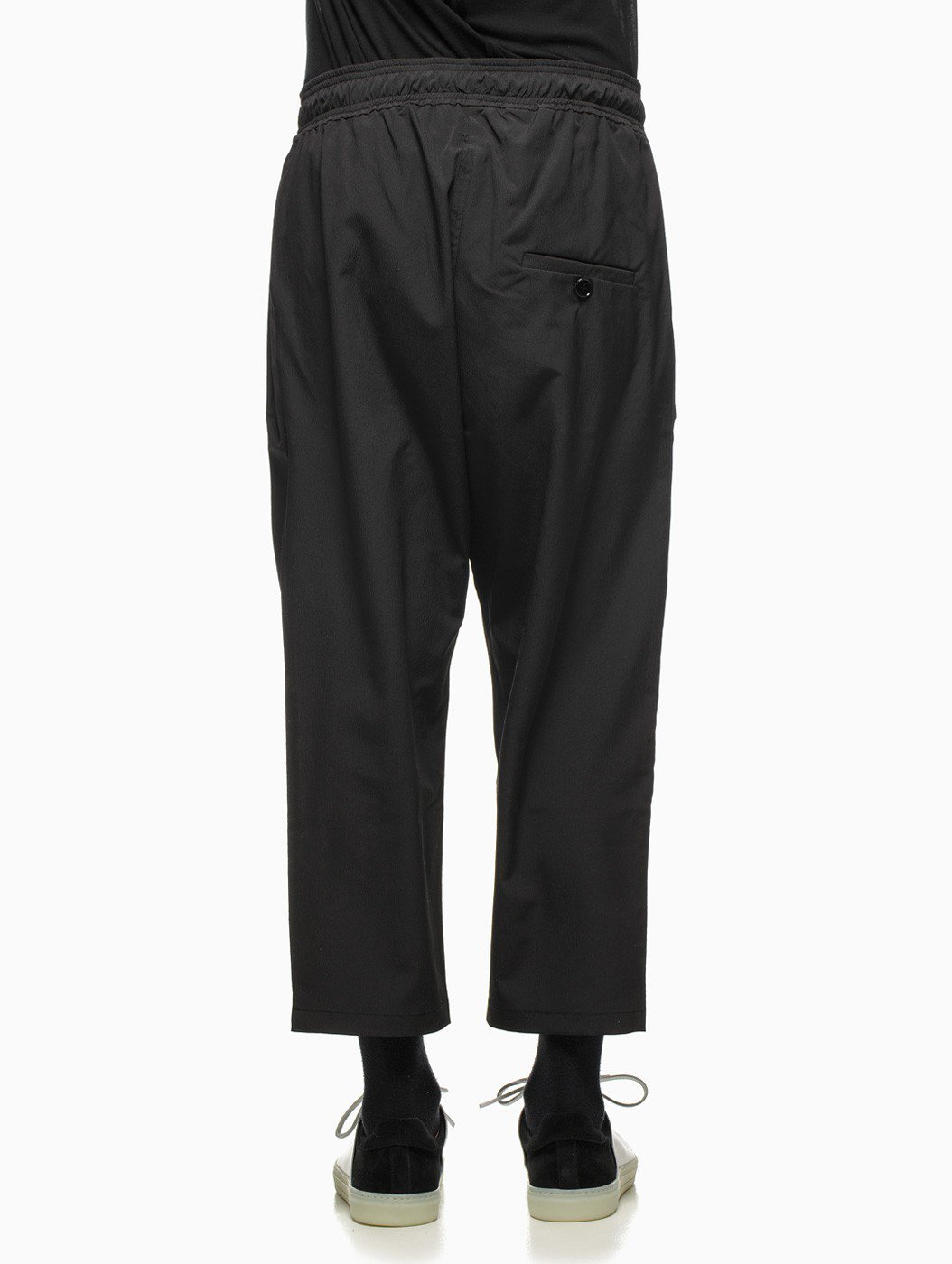 Silent - Damir Doma Pheda 3/4 Trousers in Black for Men