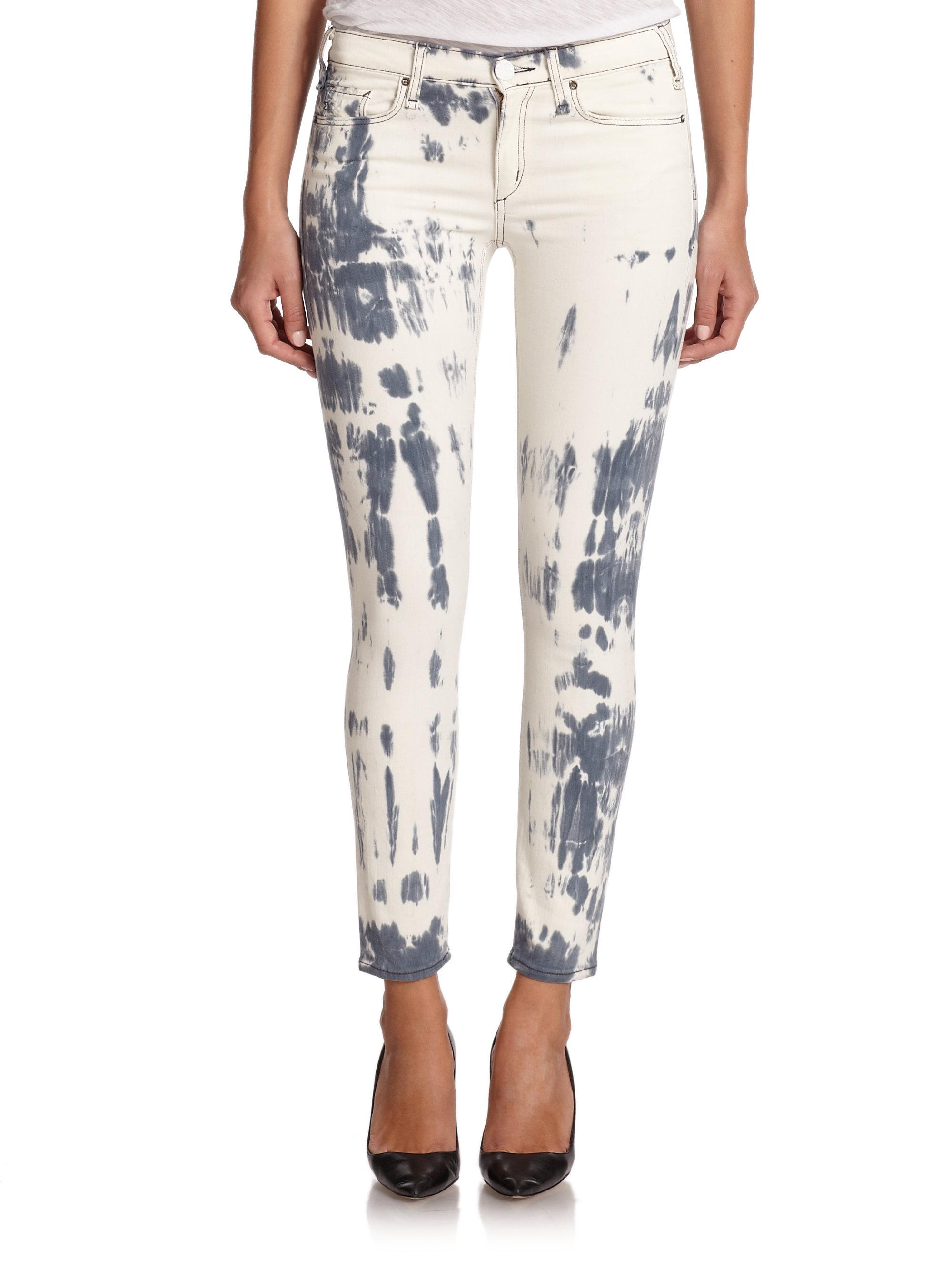 d744529a9ff36 Lyst - Mcguire Newton Tie-dye Skinny Jeans in Gray