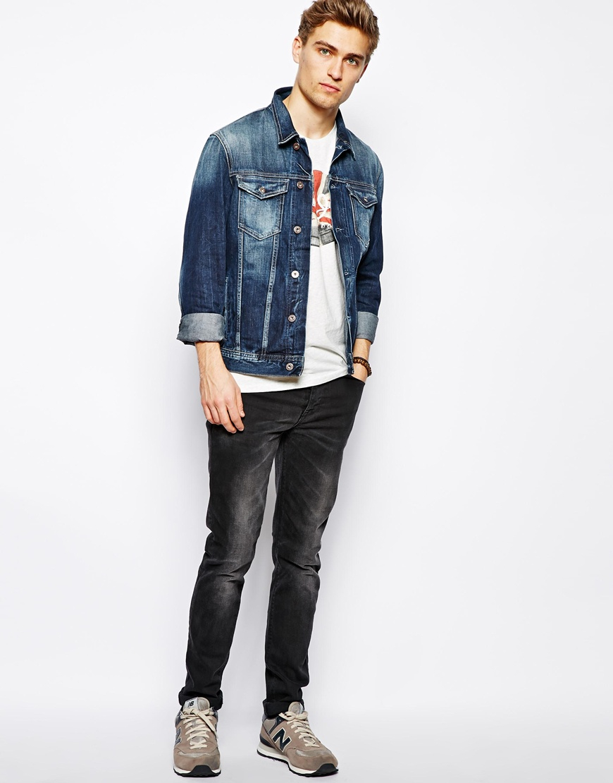 Pepe jeans Denim Jacket Legend in Blue for Men | Lyst