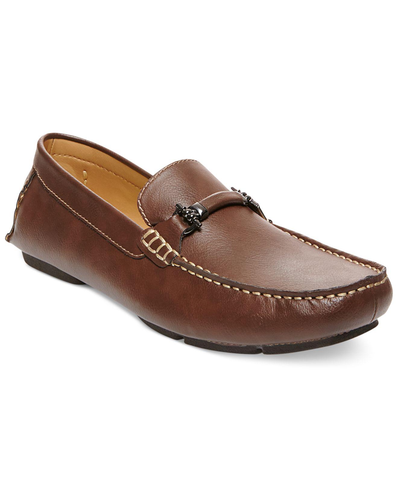 Steve madden Madden Trulow Loafers in Brown for Men