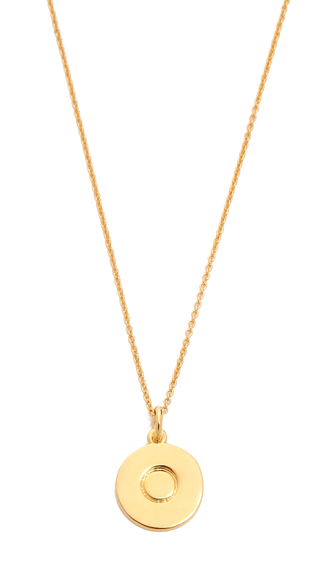 kate spade new york letter pendant necklace b in