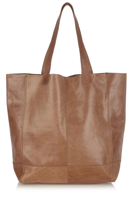 Tan leather bag oasis
