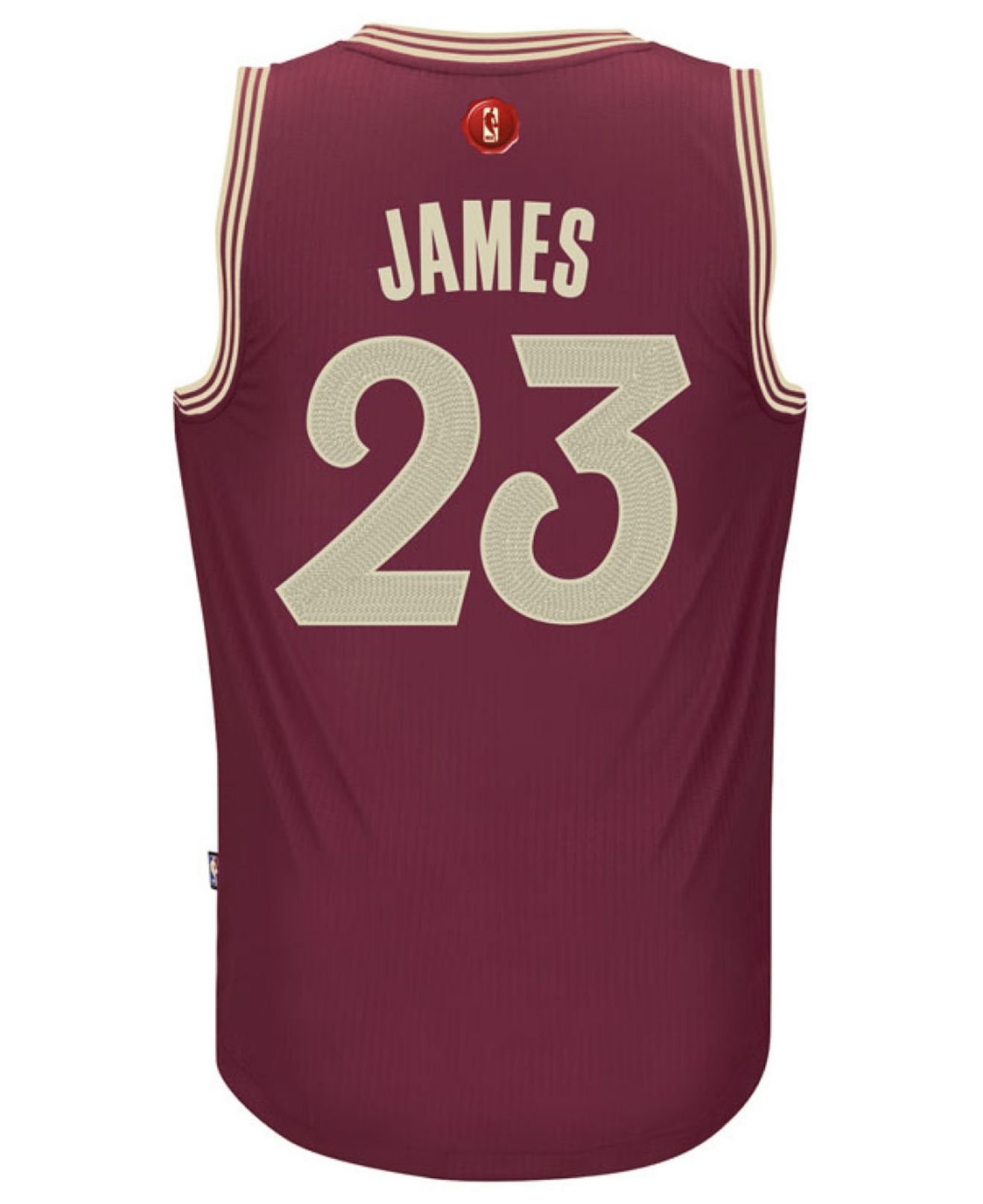 brand new 035b7 425b9 Adidas Red Men's Lebron James Cleveland Cavaliers Christmas Day Swingman  Jersey for men