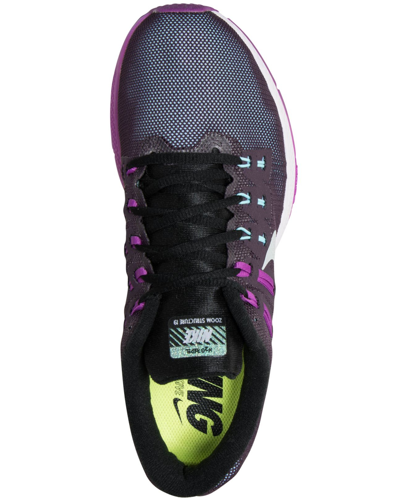 purchase cheap d8697 af506 australia lyst nike womens zoom structure 19 flash running sneakers from  bc687 88550