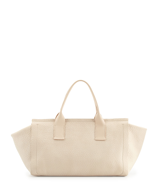 handbags see by chloe - isa tote in small grain calfskin