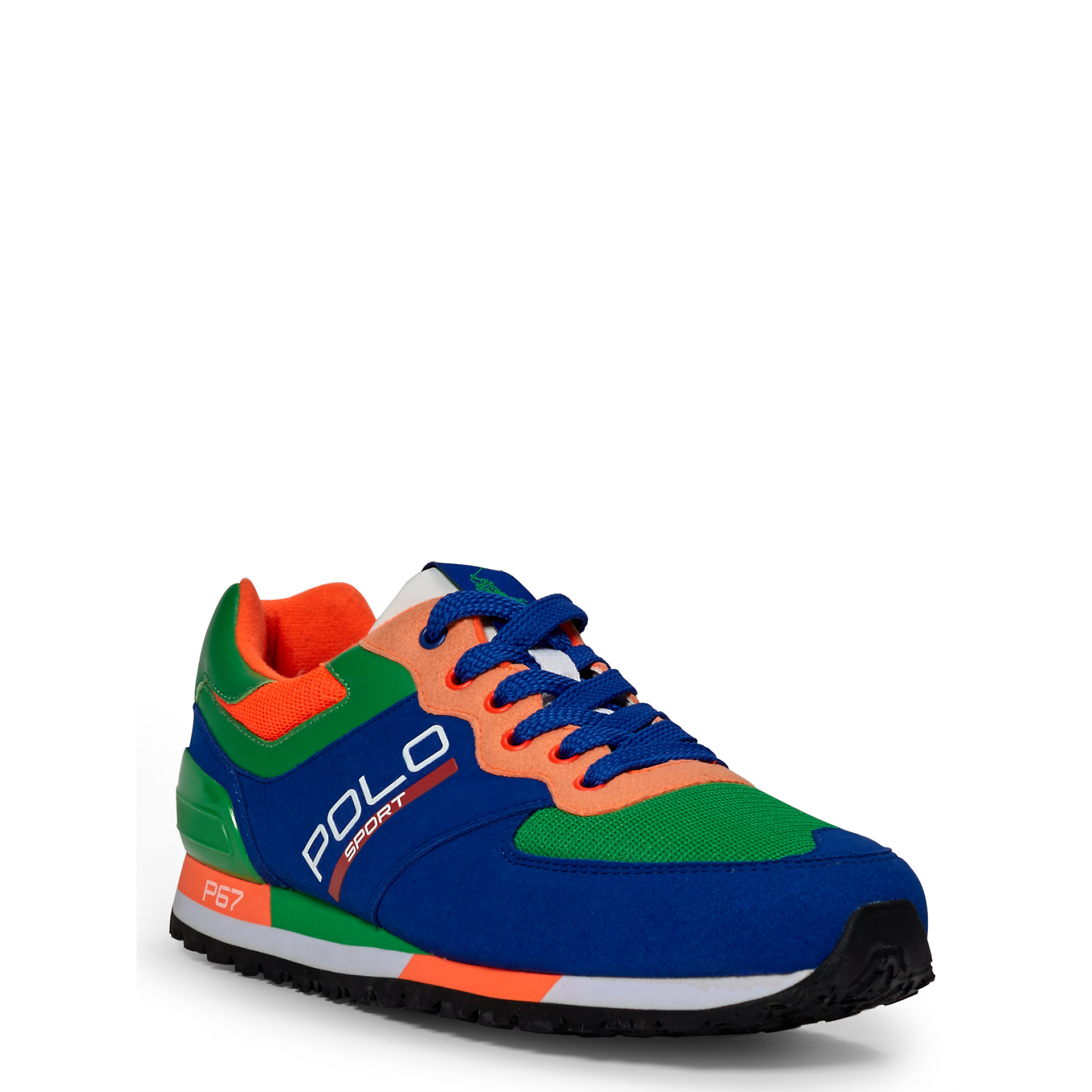 Sneaker For Men Tech Ralph Lauren Slaton Multicolor Polo Lc34A5jRq