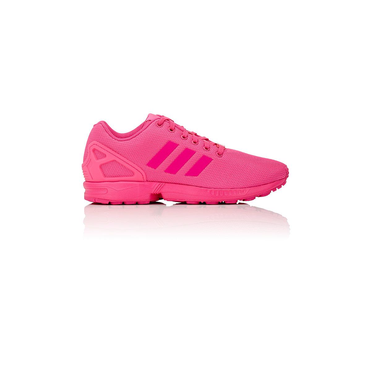 adidas originals men 39 s zx flux sneakers in pink for men lyst. Black Bedroom Furniture Sets. Home Design Ideas