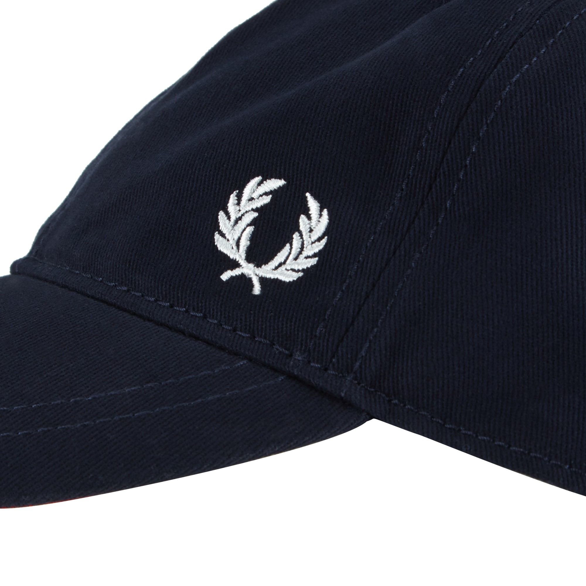 fred perry classic baseball cap in black for men lyst. Black Bedroom Furniture Sets. Home Design Ideas