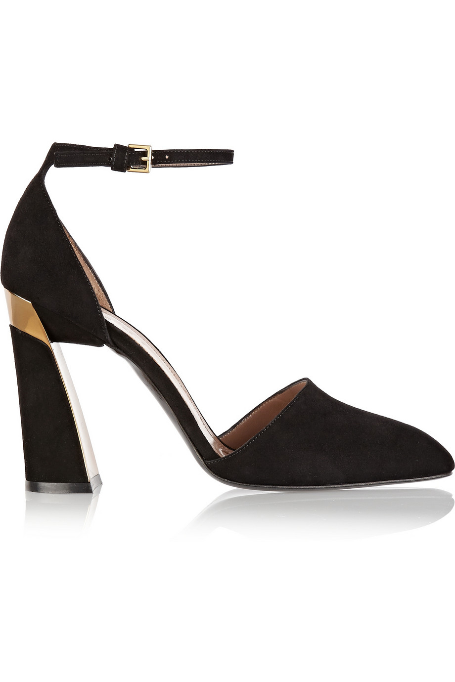 Marni Leather-Trimmed Platform Pumps outlet 100% authentic exclusive cheap price 12wVGAmN
