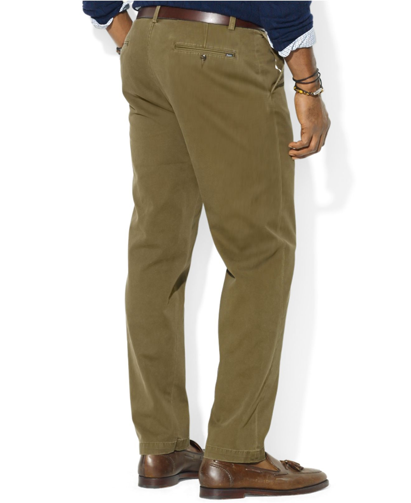 For Green Classic Fit Ralph Polo Pants Front Lauren Chino Suffield Men Flat 6yYbgf7v
