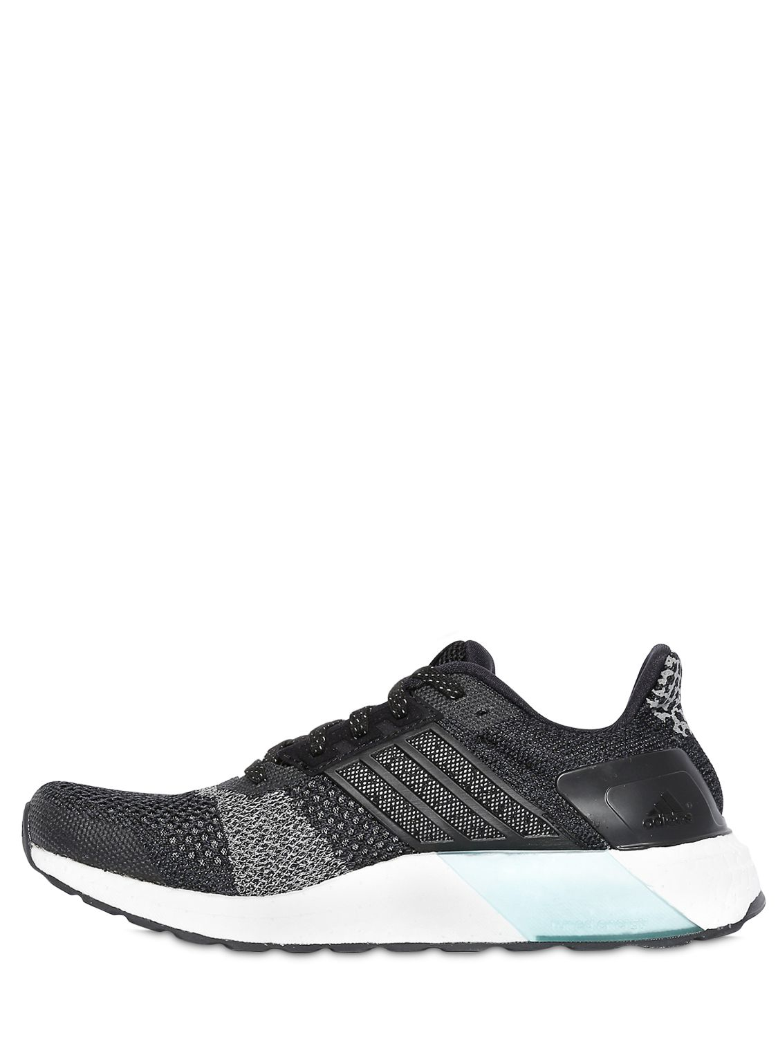 0bd2a5519 adidas Originals Ultra Boost St Glow Running Sneakers in Black - Lyst