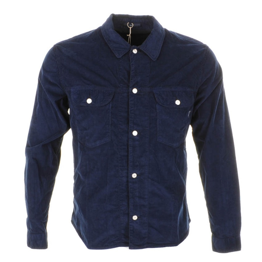 Paul Smith Jeans Corduroy Shirt Jacket in Navy (Blue) for Men