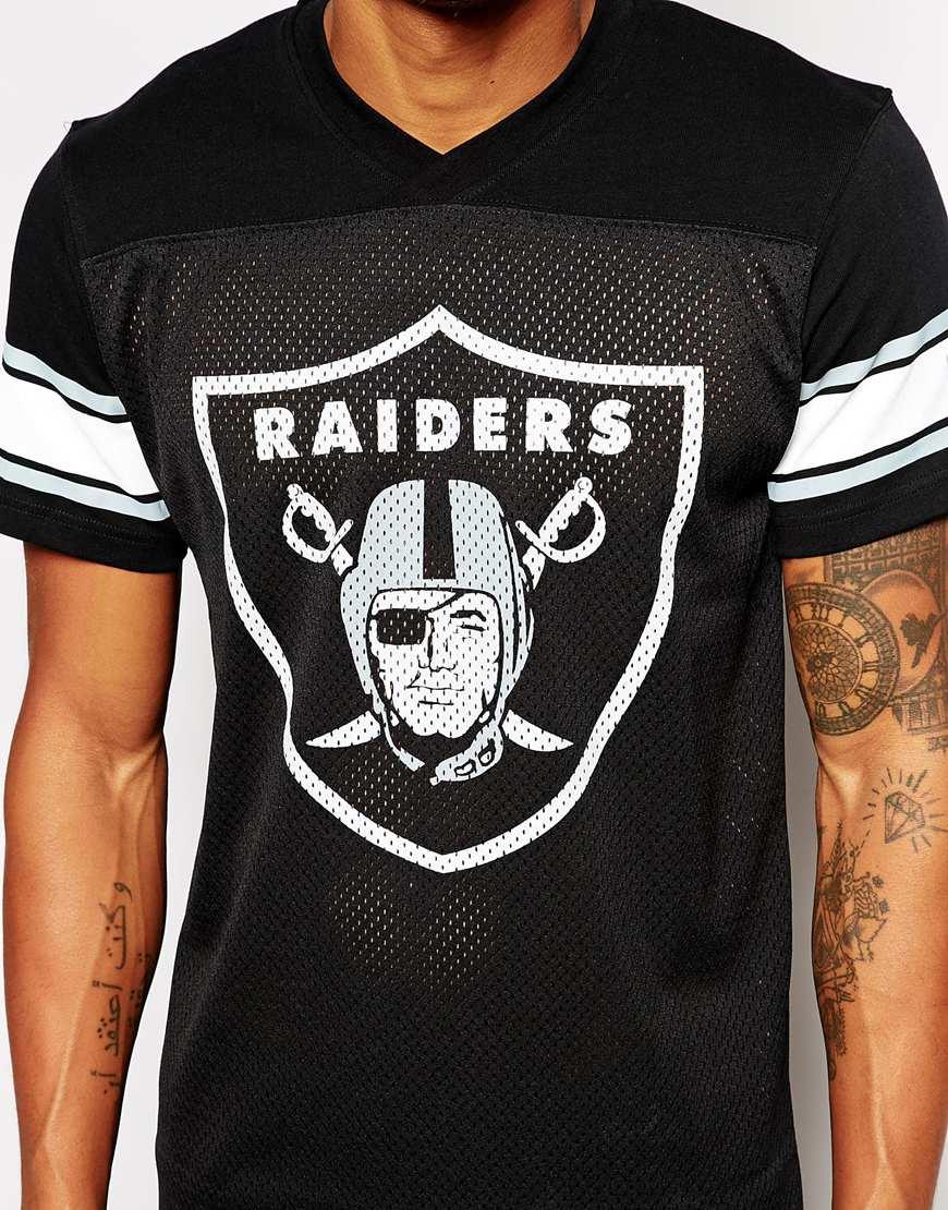 black raiders jersey