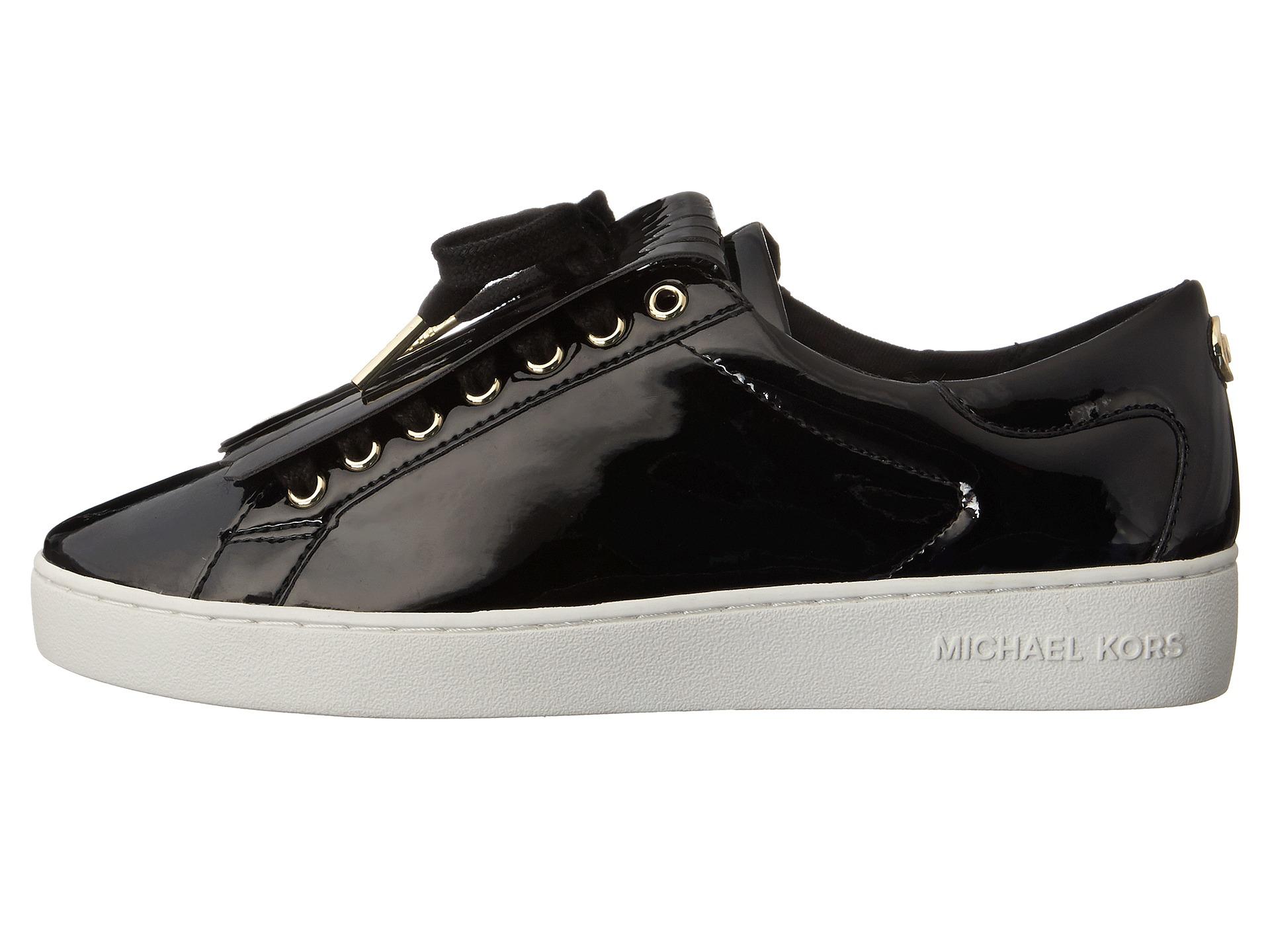 7abec16fee7e Lyst - MICHAEL Michael Kors Keaton Kiltie Sneaker in Black