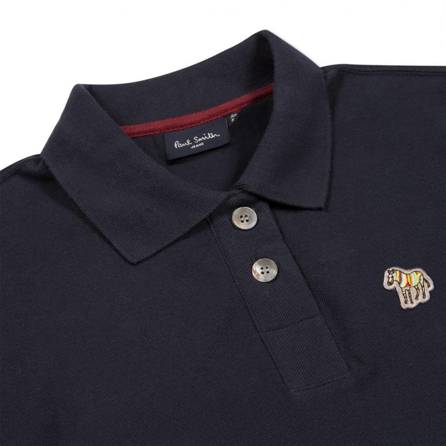 Paul Smith Men s Navy Zebra Logo Polo Shirt in Blue for Men - Lyst 58564e3bca05