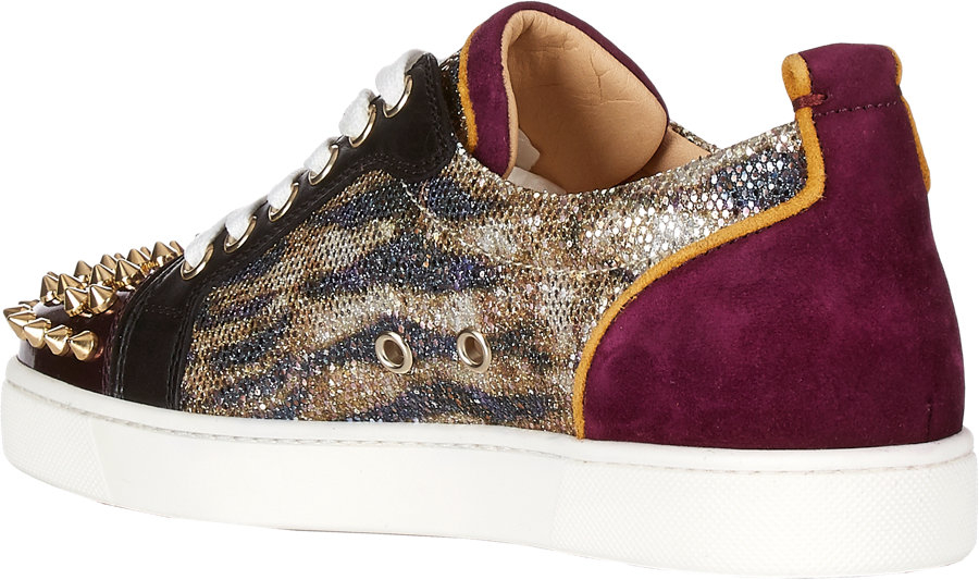 louboutin spikes sneakers