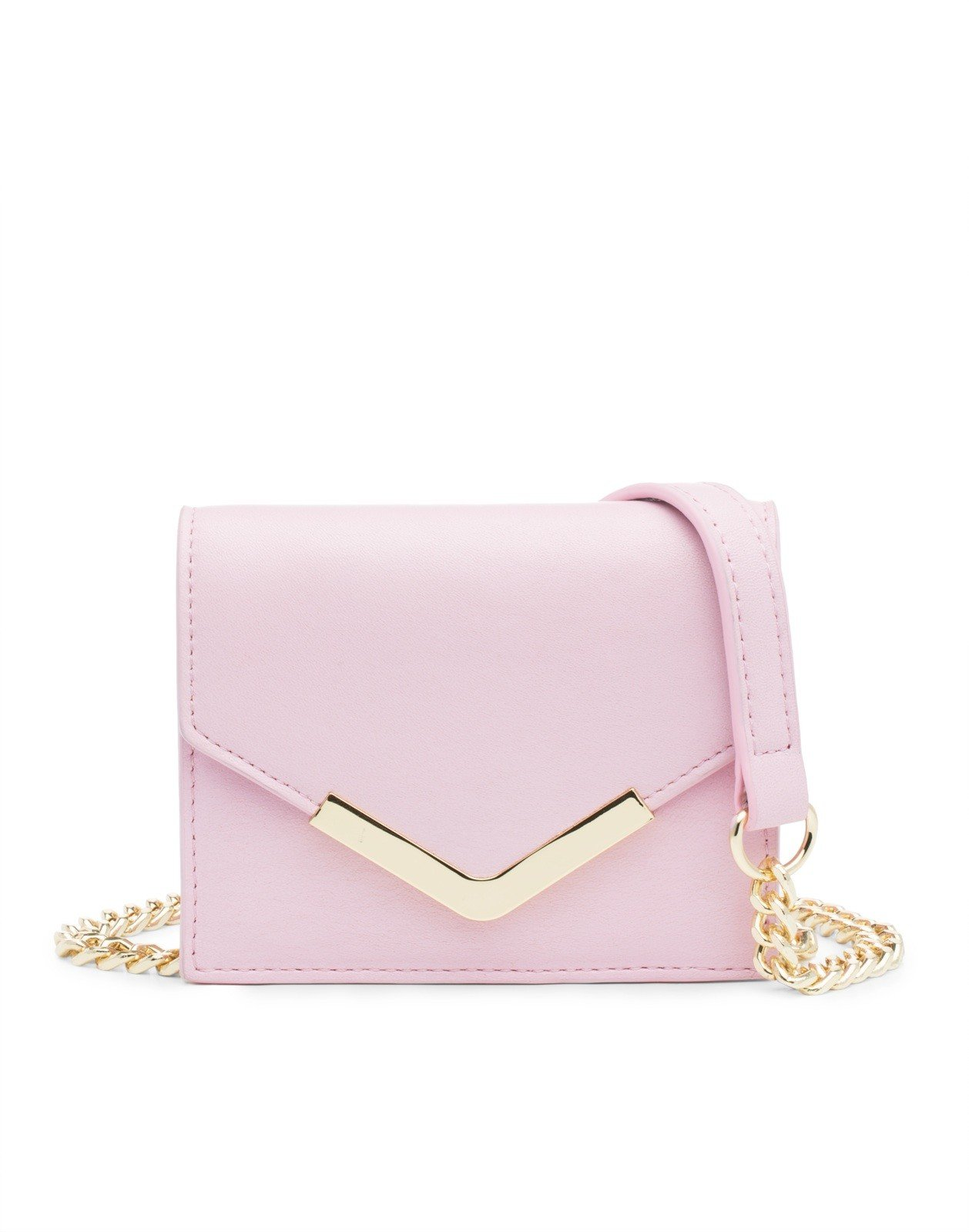 cynthia rowley mini cross solid in pink light pink
