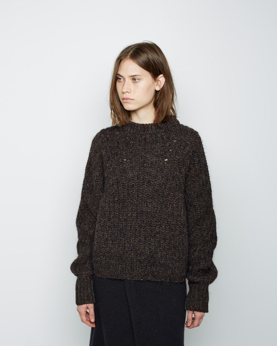 isabel marant newit mohair pullover in gray lyst. Black Bedroom Furniture Sets. Home Design Ideas
