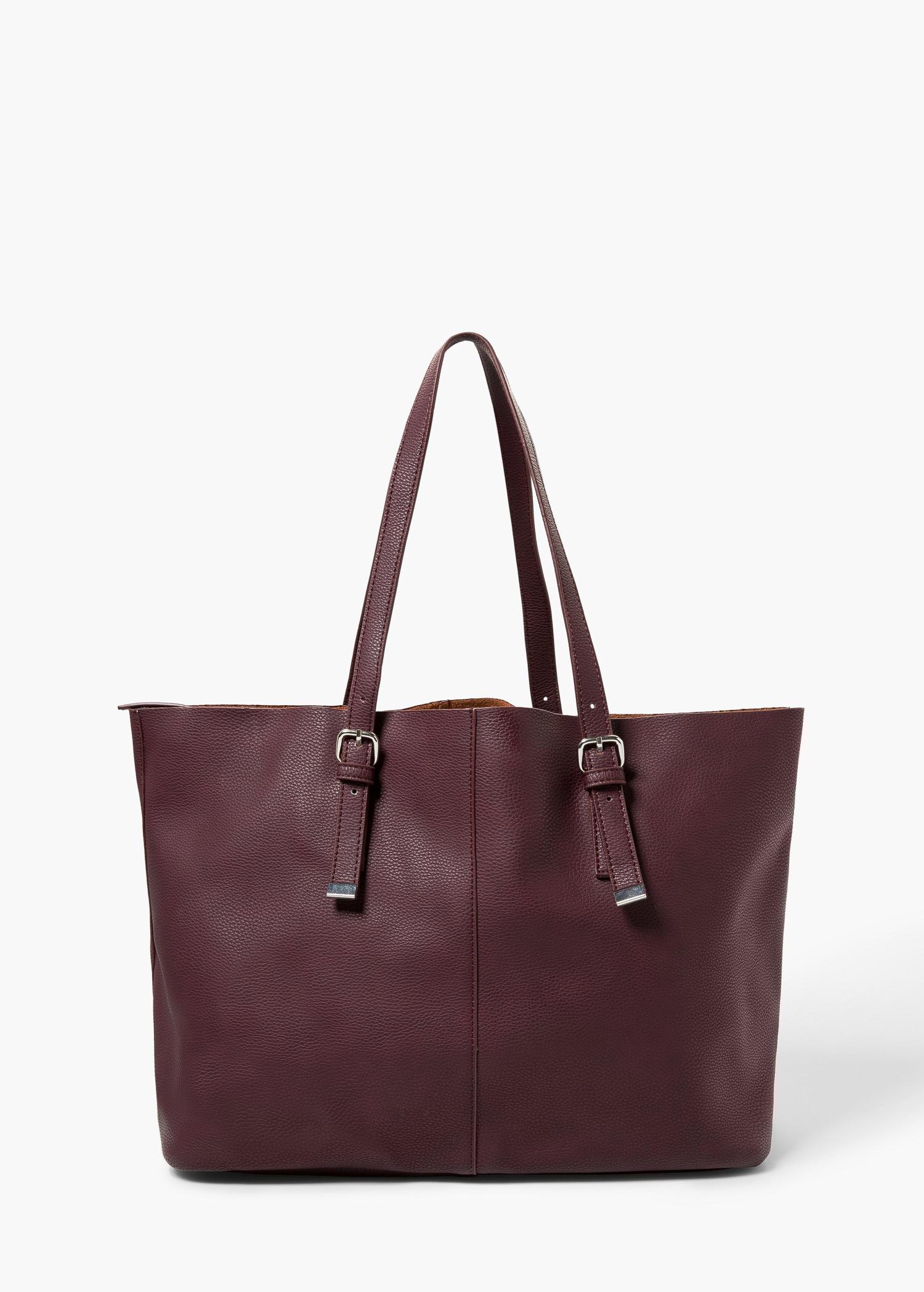 Beautiful Zip Tote Bag  Bags For Women  MANGO USA