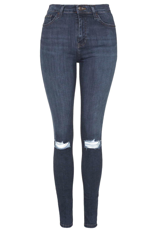 Topshop Petite Vintage Jamie Jeans in Blue | Lyst