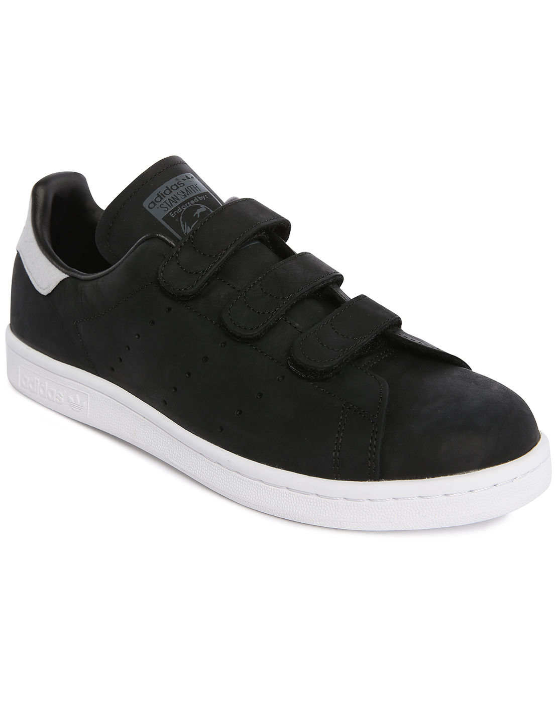 mens adidas stan smith leather velcro. Black Bedroom Furniture Sets. Home Design Ideas