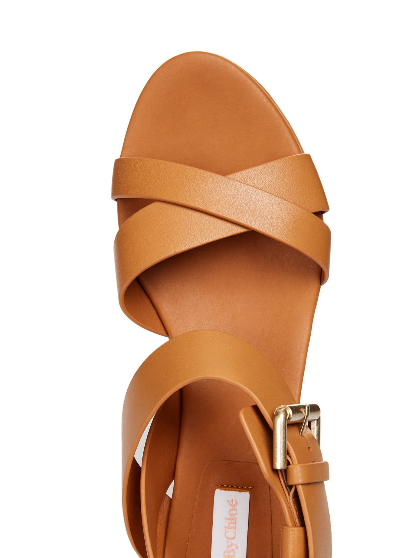 discount newest Chloé crossover sandals discount wholesale where can you find TMXlI5i