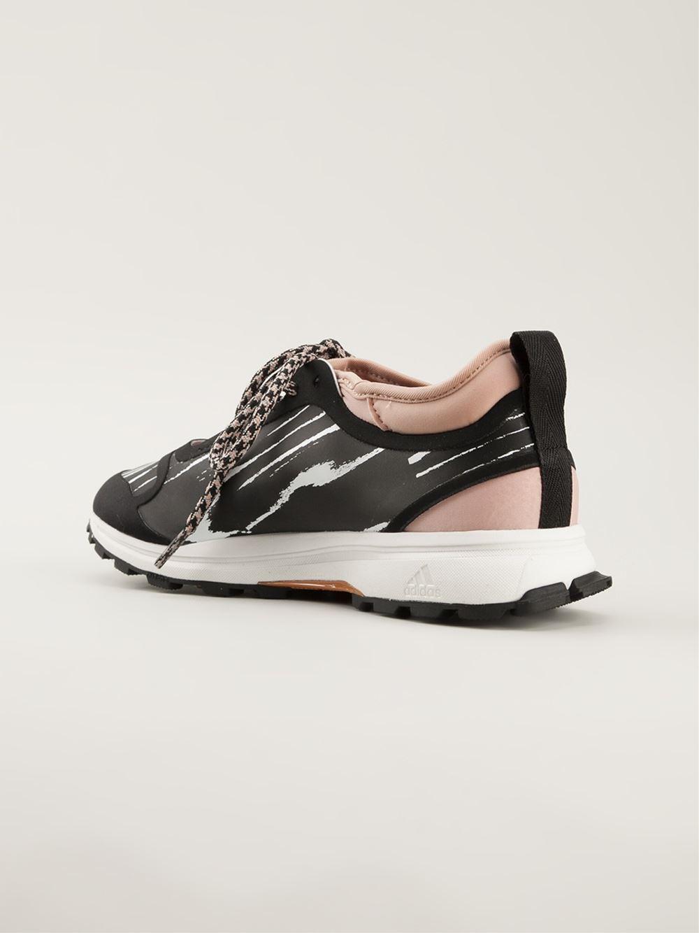 adidas by stella mccartney adizero xt sneakers black in black lyst. Black Bedroom Furniture Sets. Home Design Ideas