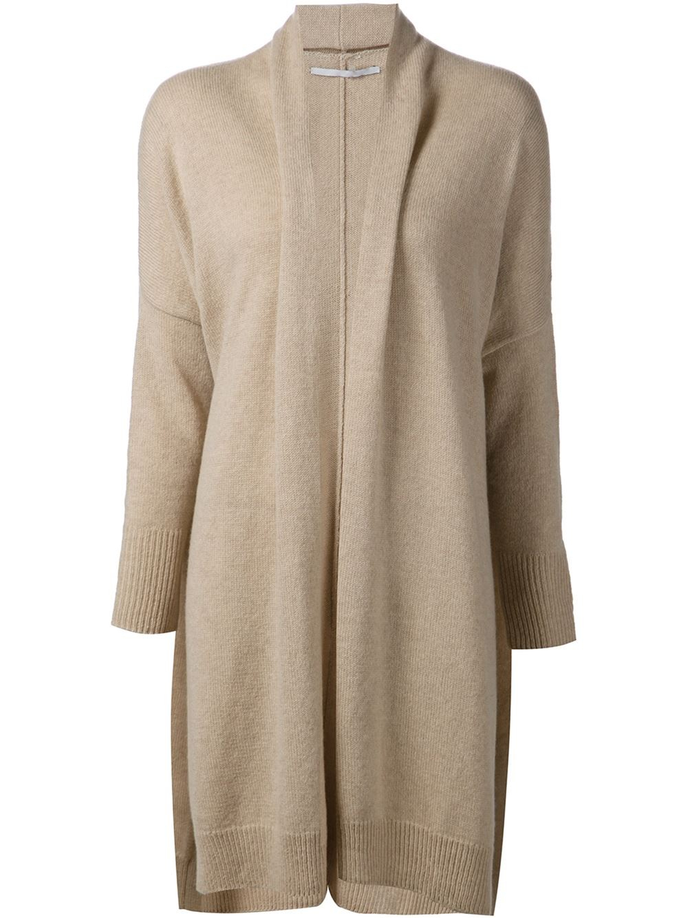Rosetta getty Open-Front Silk and Cashmere-Blend Cardigan in ...