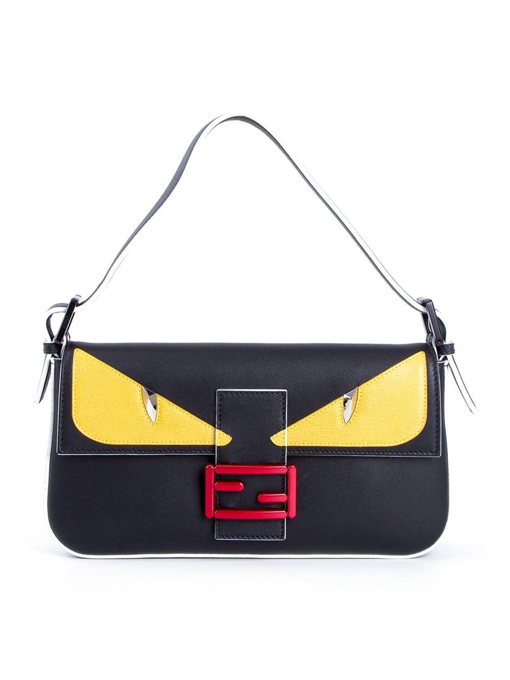 94cbac4e3851 ... purchase lyst fendi baguette bag in black c2096 ff968