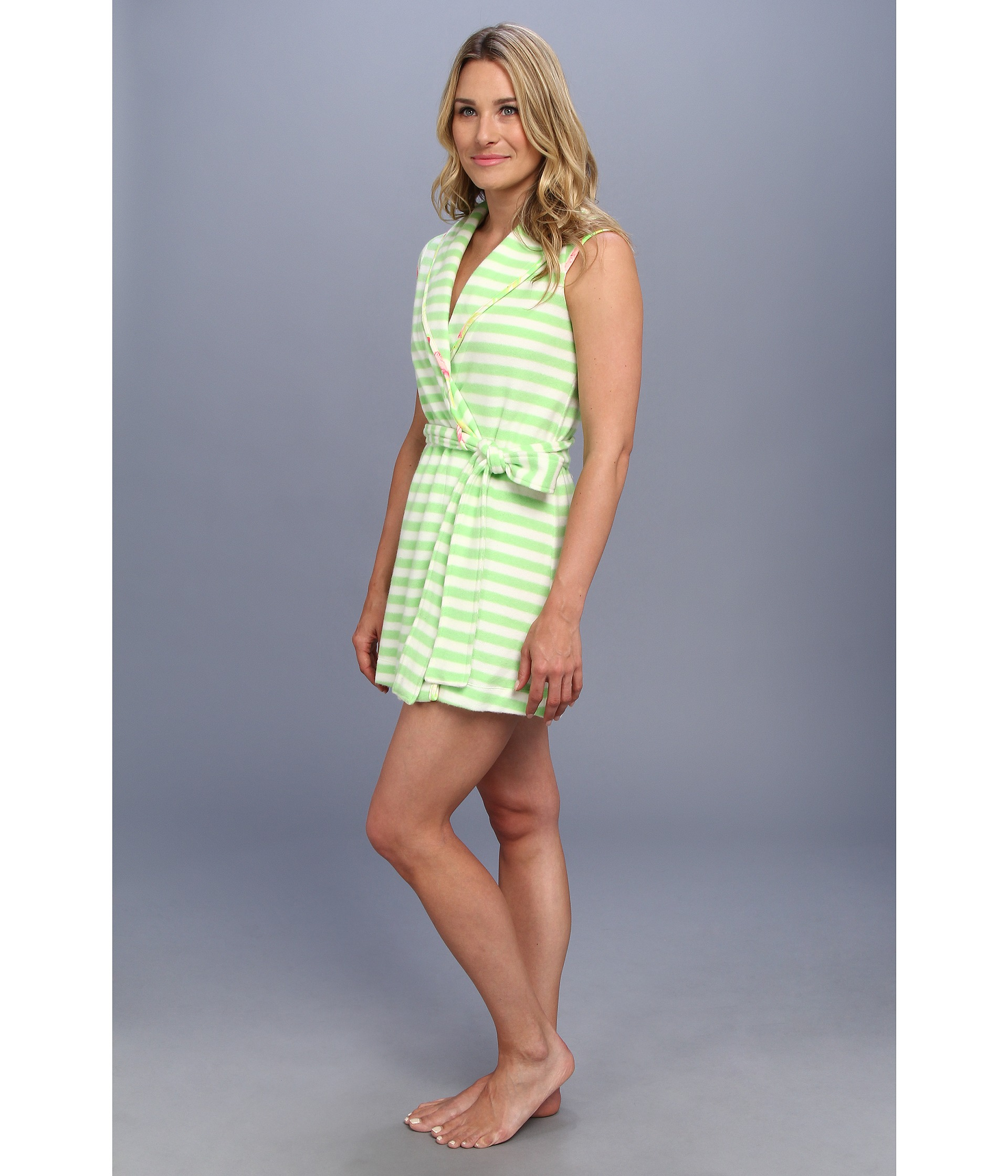 Betsey johnson Robe Baby Terry in Green