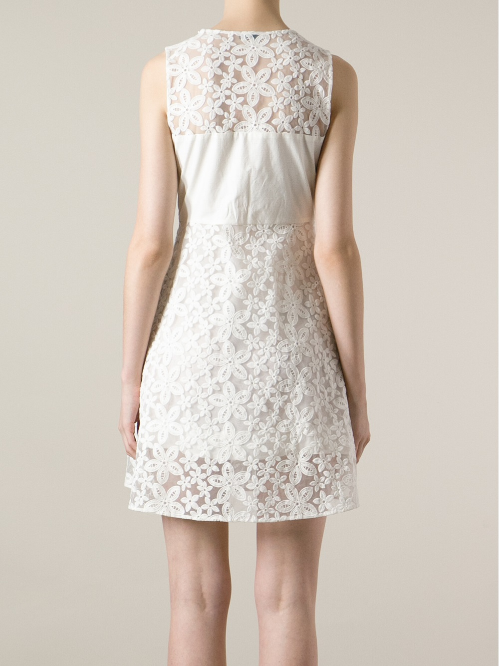 Joseph Dolly Dress In White Lyst