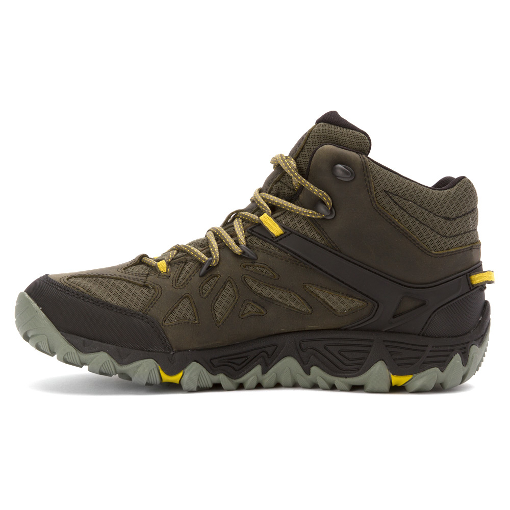 Lyst Merrell All Out Blaze Vent Mid Waterproof In Brown