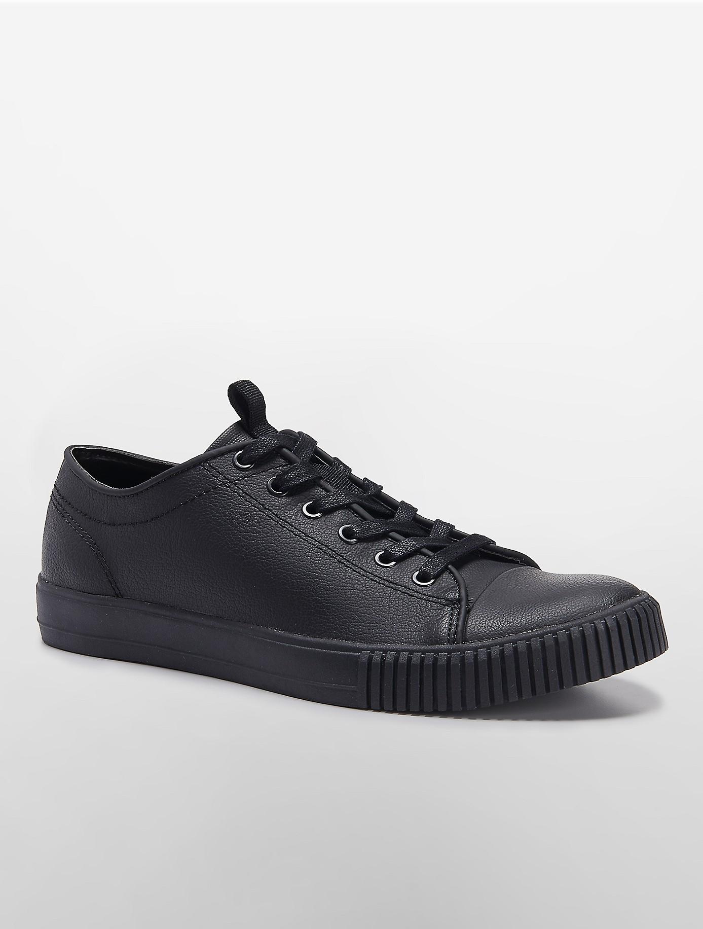 calvin klein jeans jerome low top sneaker in black lyst. Black Bedroom Furniture Sets. Home Design Ideas