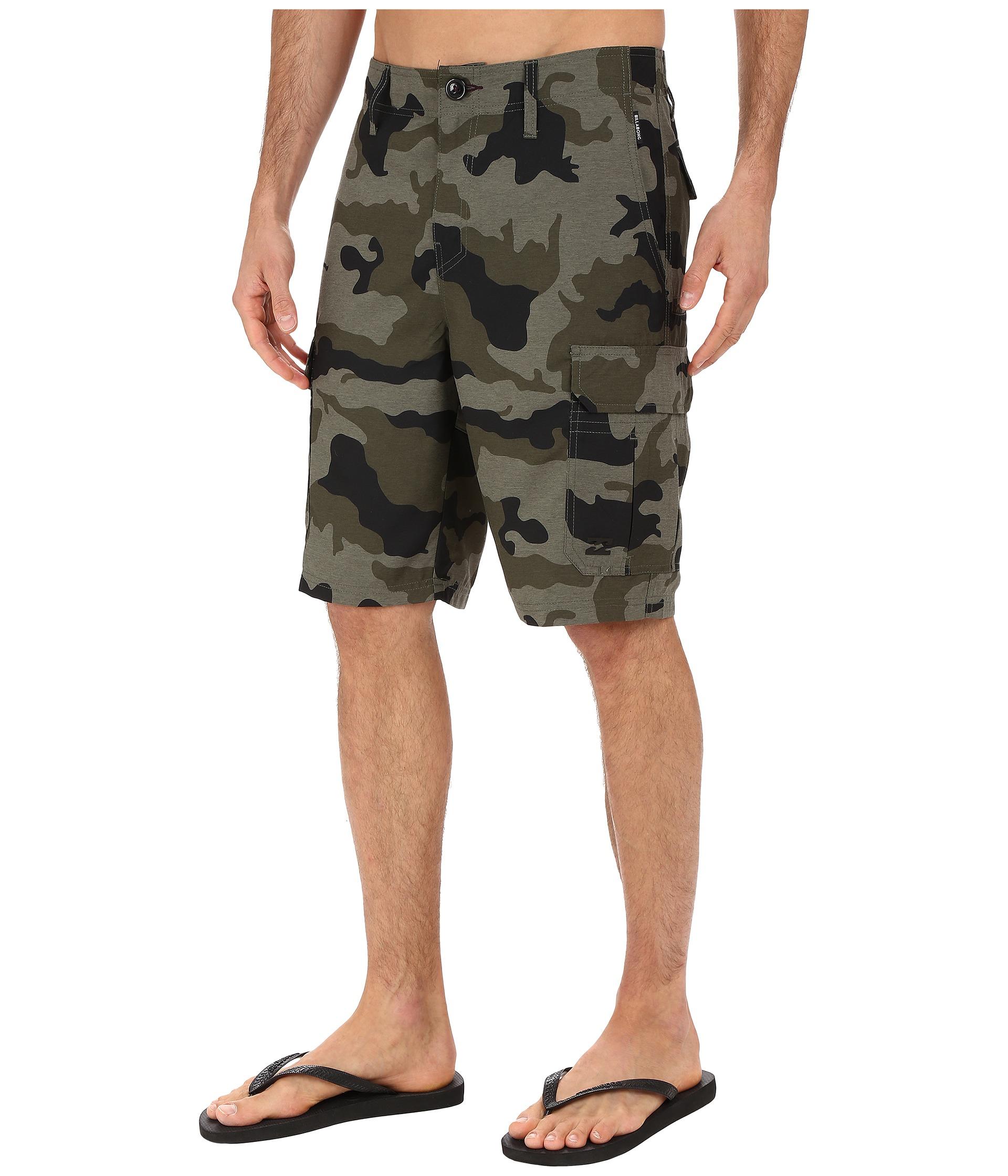 BILLABONG Mens Scheme Cargo Walkshort Casual Shorts