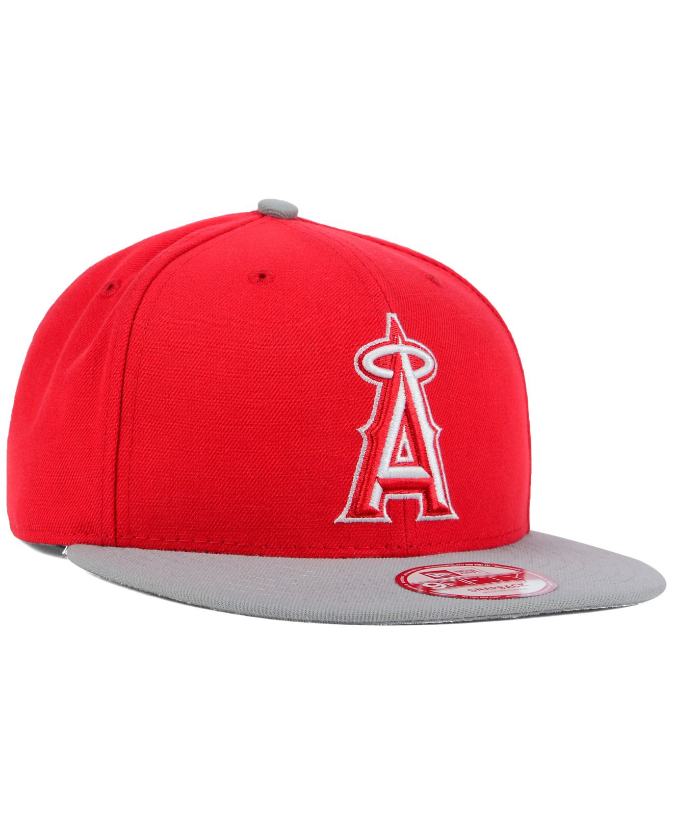 detailed look e6a60 4af4b ... cooperstown 9fifty snapback cap 8f147 52520  sale lyst ktz los angeles  angels of anaheim 2 tone basic 9fifty 6ea71 36375